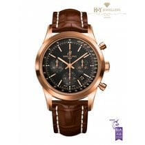 Breitling Transocean Chronograph Rose gold 43mm Black No numerals United Kingdom, London