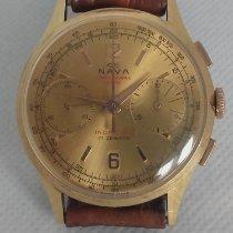 Chronographe Suisse Cie Sárgaarany 35mm Kézi felhúzás használt Magyarország, Balatonalmádi