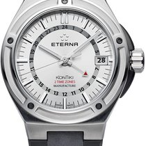 Eterna Royal Kontiki Steel Silver