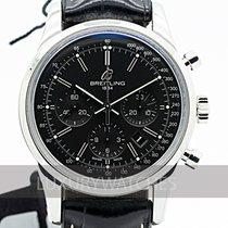 Breitling Transocean Chronograph Acero 43mm Negro