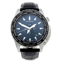 Vogard new Automatic Display Back Center Seconds Rotating Bezel Limited Edition 43mm Steel Sapphire Glass