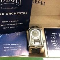 Boegli Acier 35mm Remontage manuel 600.0128 nouveau