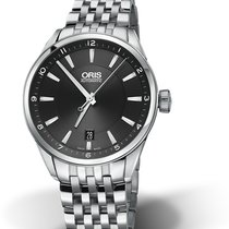 Oris Artix Date Steel 39mm Black