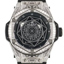 Hublot Big Bang Sang Bleu Titan 45mm Schwarz