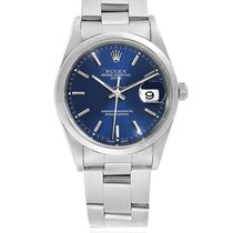 Rolex Oyster Perpetual Date Steel 34mm Blue No numerals South Africa, Johannesburg