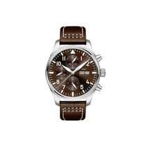 IWC Pilot Chronograph IW377713 Ny Stål 43mm Automatisk