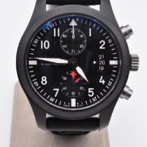 IWC Pilot Chronograph Top Gun Céramique 46mm Noir Arabes