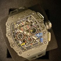 Richard Mille RM 011 Carbon 49.94mm Transparent Arabisch