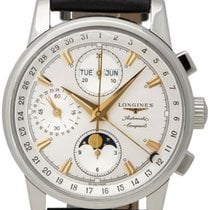 Longines Conquest Heritage Steel 38.5mm Silver United States of America, New York, Monsey