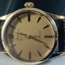 Rolex Yellow gold Silver pre-owned Air King