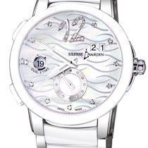 Ulysse Nardin Автоподзавод 40mm подержанные Executive Dual Time Lady