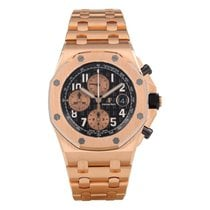 Audemars Piguet Royal Oak Offshore Chronograph Roségold 42mm Schwarz Arabisch