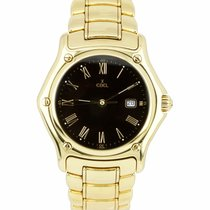 Ebel 1911 Yellow gold 34mm Black Roman numerals United States of America, New York, Massapequa Park