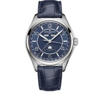 Vacheron Constantin Fiftysix Stahl 40mm Blau Arabisch