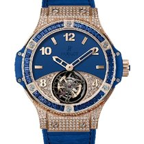 Hublot 345.PL.5190.LR.0901 Big Bang Tourbillon in Rose Gold...