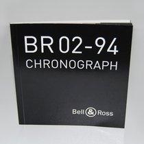 Bell & Ross Booklet / Beschreibung für Modell BR02-94 CHRONOGRAPH