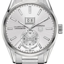 TAG Heuer Carrera Calibre 8 Steel 46.5mm Silver United States of America, New York, Brooklyn