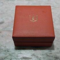 Eberhard & Co. vintage watch box orange old logo rare