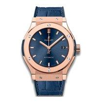 Hublot Classic Fusion 42mm Automatic 18K Rose Gold Mens Watch...