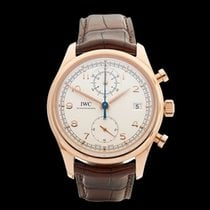 IWC Portuguese Chronograph 18k Rose Gold Gents IW390402