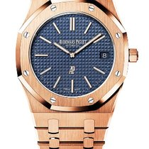 Audemars Piguet 15202OR.OO.1240OR.01 Roségoud 2016 Royal Oak Jumbo 39mm nieuw