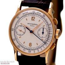 Patek Philippe Vintage Chronograph Ref-533 18k Rose Gold...