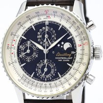 Breitling Montbrillant 1461 Triple Date Moonphase Watch A19030...