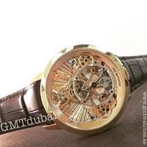 Arnold & Son Time Pyramid Rose gold 44.6mm Pink No numerals