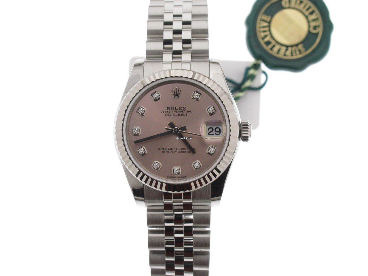 46b3c1b9f92 Prezzo degli orologi Rolex Lady-Datejust su Chrono24