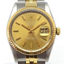 Rolex Datejust gold/stahl