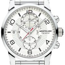 Montblanc 43mm Automatic pre-owned Timewalker White