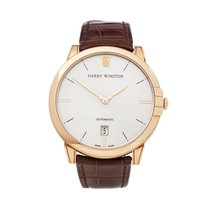 Harry Winston Rose gold 39mm Automatic MIDAHD39RR001 new