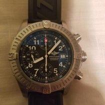 Breitling Titanium Automatic Black Arabic numerals pre-owned Super Avenger