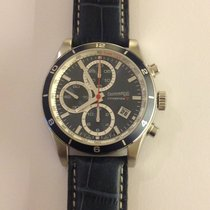 Eberhard & Co. Champion V Steel 42,8mm Blue No numerals