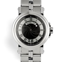 Breguet 39mm Automatic 2011 pre-owned Marine Black