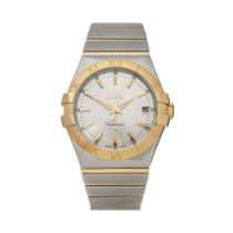 Omega Constellation Quartz Gold/Steel 35mm Silver