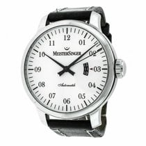 Meistersinger Steel 52mm Automatic GM201 pre-owned