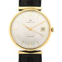 Hamilton Yellow gold 33mm Automatic 50204 pre-owned United Kingdom, West Sussex