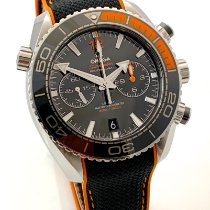 Omega Seamaster Planet Ocean Chronograph Stahl 45.5mm Schwarz Keine Ziffern Deutschland, Rheinstetten - Karlsruhe