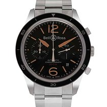 Bell & Ross BRV126-ST-HER-SST Steel Vintage 43mm new United States of America, New Jersey, Cresskill