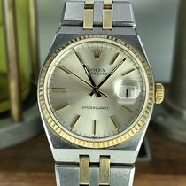 Rolex Datejust Oysterquartz Gold/Steel 36mm Champagne No numerals