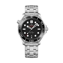 Omega Seamaster Diver 300 M Steel 42mm Black No numerals United States of America, Iowa, Des Moines