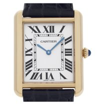 Cartier Tank Solo Gold/Steel 34.8mm Silver Roman numerals United States of America, Florida, Surfside