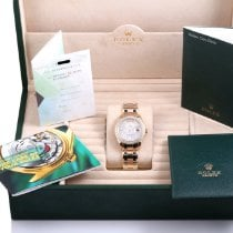 Rolex Or jaune Rolex Tridor Masterpiece Day-Date 39mm Box & Papers 18948 occasion