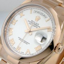Rolex Day-Date 36 118205 New Rose gold Automatic