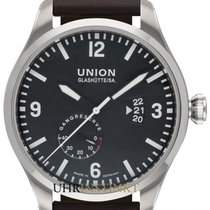 Union Glashütte Belisar Pilot Steel 45mm Black