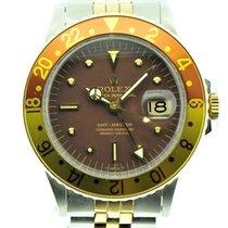 Rolex GMT-Master 1675/3 Sehr gut Gold/Stahl Automatik