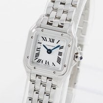 Cartier new Quartz 25mm Steel Sapphire crystal