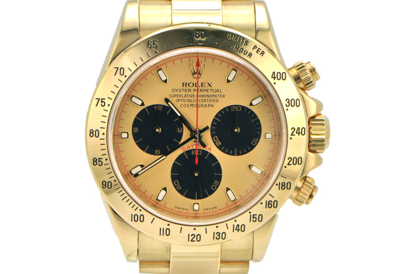 Rolex Daytona Yellow Gold With Paul Newman Dial F Series For Price