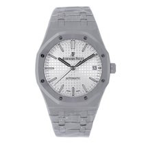 Audemars Piguet AP Royal Oak 37mm Stainless  Steel White Dial...
